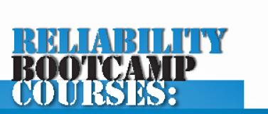 August 2017 - Bootcamp courses in Reliability